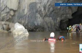 Buscan a jóvenes desaparecidas en el Parque Nacional de Cacahuamilpa