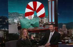 Melissa McCarthy on Kimmel Injury & Parents Staying with Her