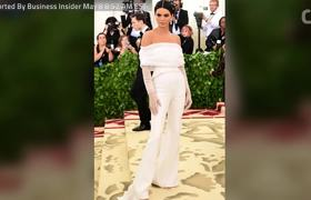 #MetGala.' ... Kendall Jenner pushes security guard