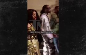 Cardi B's Security Accused of Met Gala Beatin