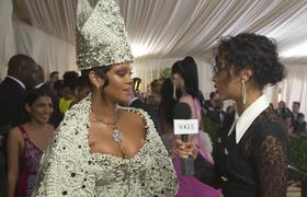 Met Gala 2018 - Rihanna on Her Divine Dress and Co-Hosting With Anna Wintour