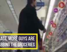 Guys grocery shop