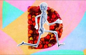 Una dieta apropiada puede evitar lesiones cuando corres
