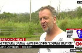 New lava fissures fuel fears of eruption in #Hawaii