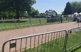Prince Harry & Meghan Markle Arrive for Wedding Rehearsal