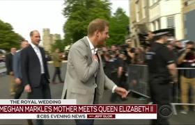 Meghan Markle's mother meets Queen Elizabeth
