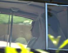 Royal wedding 2018: Glimpse of Meghan Markle's wedding gown