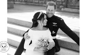 New Official Portrait of Prince Harry and Meghan Markle's Royal Wedding
