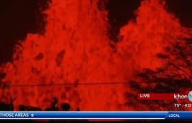 New explosive eruption at summit of #Kilauea Tuesday morning