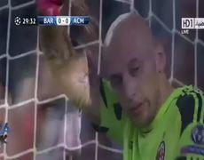 Barcelona vs Milan 3 1 All Goals 06112013