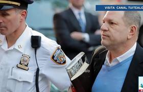 Harvey Weinstein se entrega a la policía de NY