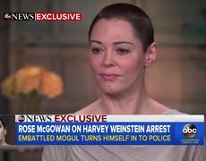 Rose McGowan responds to Harvey Weinstein