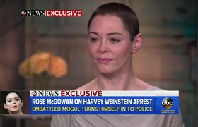 Rose McGowan responds to Harvey Weinstein