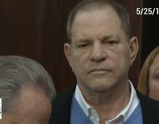 Courtroom video of Harvey Weinstein arraignment