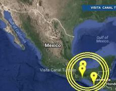 Sismos despiertan a Veracruz, Oaxaca y Chiapas
