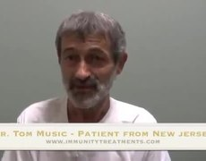 Tom's Testimonial Immunity Therapy Center Patient