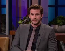 The Tonight Show with Jay Leno Interview Liam Hemsworth