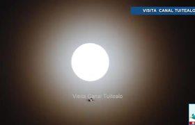 Luna llena ilumina la CDMX