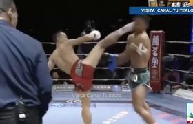 ¡Tremendo KO! Tie Yinghua manda a dormir a su rival