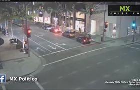 Captan asalto de película a boutique de Beverly Hills