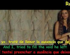 Leslie Grace Ft. Becky G - Diganle (Letra + Lyrics in English + Legemdado em Portugues) Video Official HD