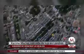 Karime Macías se da vida de reina en #Londres