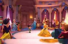 Wreck-It Ralph 2 Images Feature the Disney Princesses