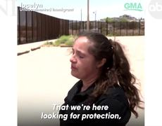 Mother is separated from her son at the border