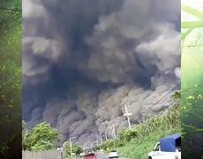 Scary footage FUEGO eruption in Guatemala