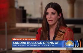 Sandra Bullock Talks About Motherhood, Adoption, And New Movie 'Ocean's 8'