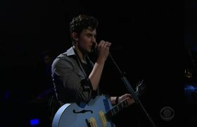 The Late Late Show: Shawn Mendes: Nervous
