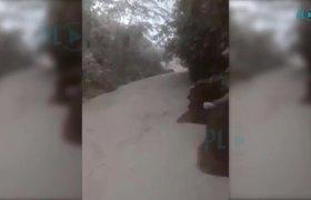 Río de Siquinalá convertido en ceniza por Volcán de Fuego