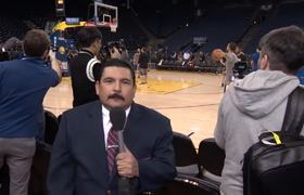 Guillermo at 2018 NBA Media Day