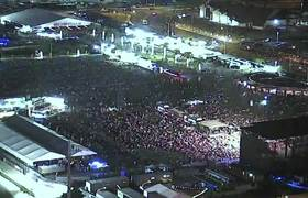 Surveillance Video Shows Chaos of Vegas Shooting