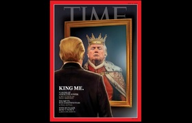 #NEWS: North Haven native artist on Donald Trump 'Time' cover