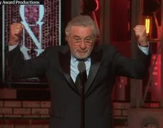 Robert de Niro's 'Fuck Trump' speech at Tony awards 2018