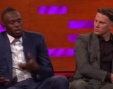 The Graham Norton - Usain Bolt Lost To Kevin Hart In A Race!