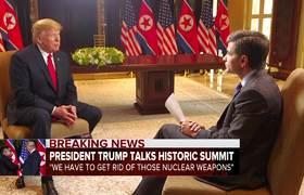'I do trust him': Trump reflects on Kim meeting (FULL INTERVIEW)
