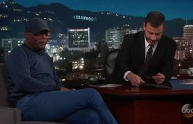 5007a390a30 Samuel L. Jackson   Magic Johnson Won t Invite Jimmy Kimmel on Vacation