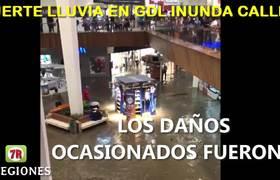LLUVIA azota el CENTRO de Guadalajara
