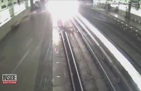 Deer Runs Loose Through Virginia Train Station