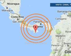 Sismo de magnitud 5.3 grados sacude Panamá