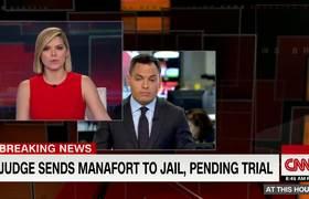 Paul Manafort sent to jail, pending trial