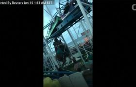 Roller-Coaster Car Derails In Florida