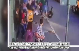 #NEWS: Moscow terror scare as cabbie mows down MEXICAN soccer fans