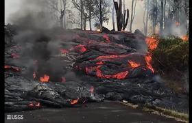 Se Está Hundiendo el Cráter del Kilauea en Hawaii