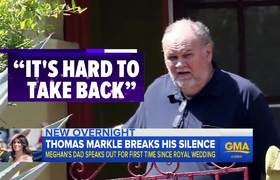 Meghan Markle's father breaks silence after royal wedding