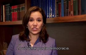 Margarita Zavala - Jorge Ramos Lucha por la Democracia