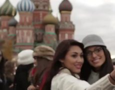 Miss Universe 2013 Contestants Tour Moscow