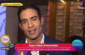 Juan Vidal le manda mensaje a Zague porque también fue hackeado
